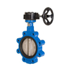 Worm Gear Wafer Lt Butterfly Valve Dn300 Low Price Butterfly Valve