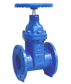 Non Rising Stem Resilient Flanged Gate Valve with Ce Approval