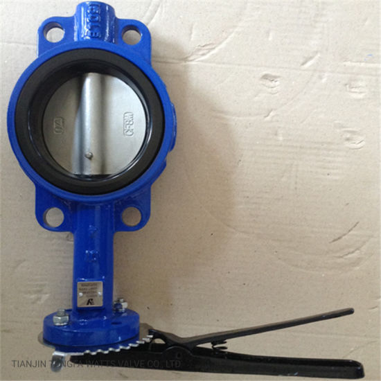 Lever Operated Wafer Butterfly Valve with Competitive Price and Good Quality