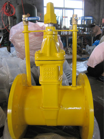 DIN3352 F5 Dn250 Resilient Seated Non-Rising Stem Valve Gate Valve