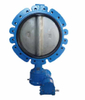 Through Shaft Without Pin Lug Type Butterfly Valve