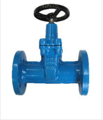 DIN3202 F5 Cast Iron Non-Rising Stem Resilient Seat Gate Valve