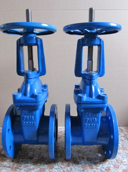 Rising Stem Resilient Seat Flanged Gate Valve Ce Approval