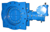Double Eccentric Flange Type Butterfly Valve